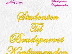 SD059 Nellie Snellen Die Shape Die, Studenten, Brudeparret, Konfirmanden-0