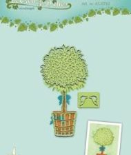 45.0782 Leane Creatief Die, Træ med potte -0