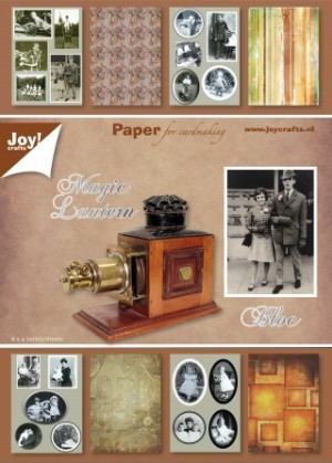 6011/0049 JOY Papirsblok A5 Magic Lantern-0