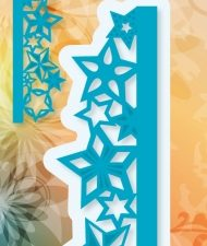 6002/0397 JOY Die Cut/emb Edge Stars-0