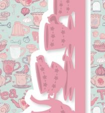 6002/0398 JOY Die Cut/emb Afternoon Tea-0