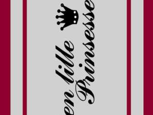 "67001 Felicita Design Stempel ""Den lille prinsesse""-0"
