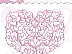 PM10027 Precious Marieke Die, Filigree Heart-0
