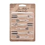 AVTH93127 Tim Holtz Idea-ology Advantus Adornments Arrows -0