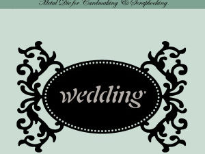 MD0012 Dixi Craft Die Tag-1 Wedding-0