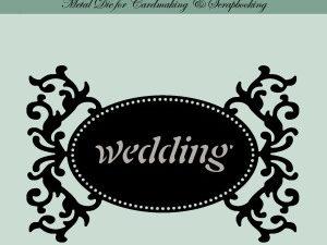 MD0012 Dixi Craft Die Tag-1 Wedding-0