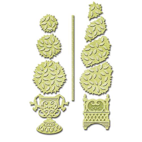 S4-529 Spellbinders Die Shapeabilities Topiary Treasures-0