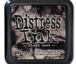 19541 Tim Holtz Distress Ink Pad, Black Soot-0