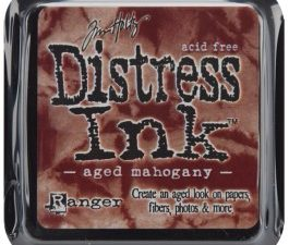 21407 Tim Holtz Distress Ink Pad, Aged Mahogany-0