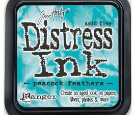 34933 Tim Holtz Distress Ink Pad, Peacock Feathers-0