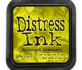 34940 Tim Holtz Distress Ink Pad, Squeezed Lemonade-0