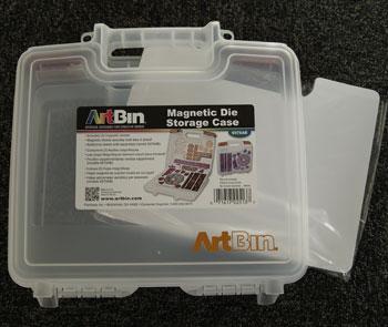 6978AB Artbin plast æske/kuffert med 3 magnetplader-0