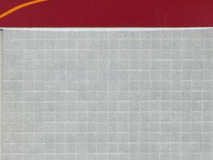 4031 3D Puder 5x5 mm, 1,0 mm tyk, sorte-0