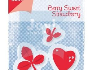 6002/0453 JOY Die Cut/emb Berry sweet strawberry-0