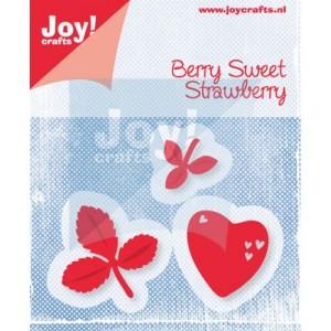 6002/0453 JOY Die Cut/emb Berry sweet strawberry-0
