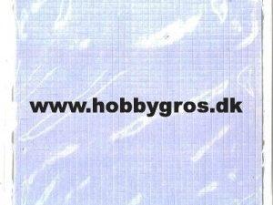 6500/0010 JOY 3D puder 2,5x2,5 mm, 0,5 mm tyk, hvide-0