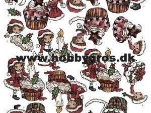 CD10174 Yvonne Design 3D 1 ark Cupcake Jul-0