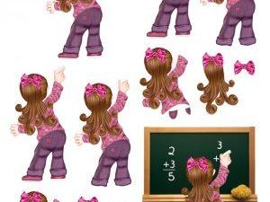 067209 BARTO DESIGN 3D 1 ark skole pige-0