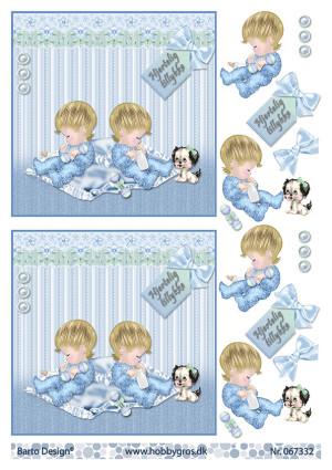 067332 BARTO DESIGN 3D 1 ark tvilling drenge-0