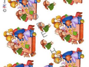 120312 HM Design 3D 1 ark dagplejer med børn -0