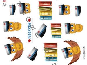 120859 HM Design 3D 1 ark student blå ugle-0