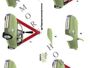 13161 Dan Design 3D 1 ark tillykke med kørekortet -0