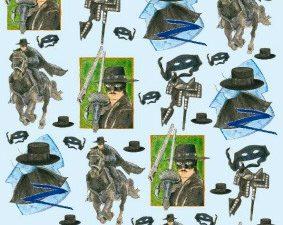 2244 Knipvel 3D 1 ark Zorro-0