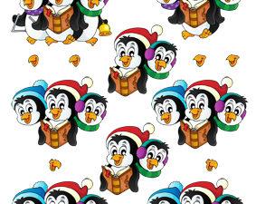 204230 Quikies 3D 1 ark Syngende pingviner-0