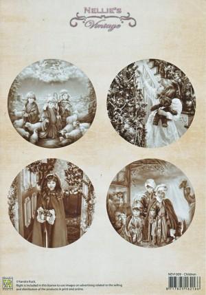 NEVI009 Nellie Snellen Vintage ark 1 ark Children-0
