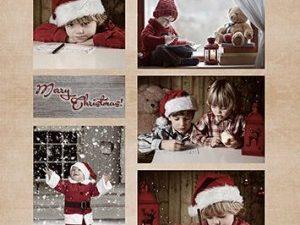 NEVI063 Nellie Snellen Vintage 1 ark Christmas Boys-0