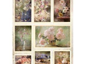 RP SL 45 STUDIOLIGHT 3D 1 ark Udstanset Romantic Flowers-0