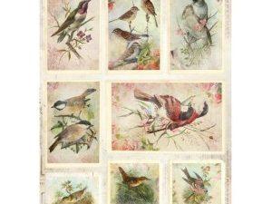 RP SL 47 STUDIOLIGHT 3D 1 ark udstanset romantic birds-0