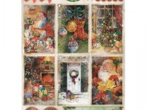 STAPLC1334 STUDIOLIGHT A4 1 ark Lovely Christmas-0