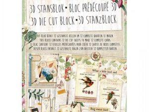 MBG07 STUDIOLIGHT Udstanset Blok My Botanic Garden-0