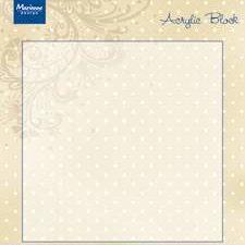 CS0941 MARIANNE DESIGN Acrylic Block-0