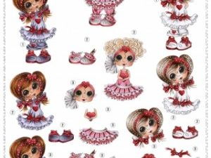 4612007 JOY 3D 1 ark 6010/2007 Sherri Baldi piger med hjerte-0