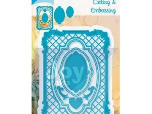6002/0421 JOY Die Cut/emb Frame-0