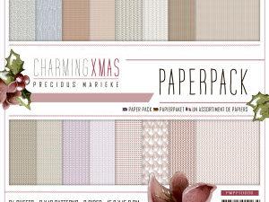 PMPP10006 Precious Marieke Papirblok Charming Christmas-0