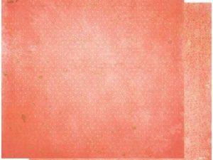 12CRV869 BOBUNNY Scrapbooking ark 30 ×30 cm, Coral Vintage-0