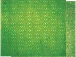 12WV982 BOBUNNY Scrapbooking ark 30 ×30 cm, Wasabi Vintage-0