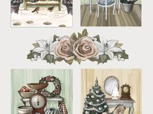 CD10540 Amy Design 3D 1 ark Brocante Christmas julebilleder-0