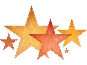 XL-23 Cheery Lynn Die Pierced Stars-0