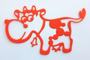 CAFNN-3 Cheery Lynn Die Crafty Ann Funny Cow -0