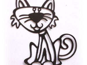CAFNN-1 Cheery Lynn Die Crafty Ann Funny Cat -1620