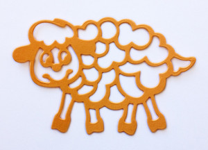 CAFNN-5 Cheery Lynn Die Crafty Ann Funny Sheep -0