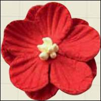 RB2235 MARIANNE DESIGN Paper Flowers Red -0
