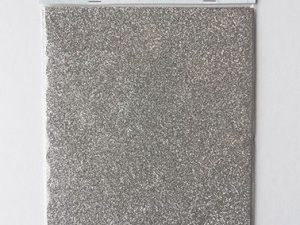 CA3122 MARIANNE DESIGN Glitter papir Sølv A5-0