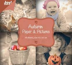 6011/0058 JOY Papirsblok Autumn-0