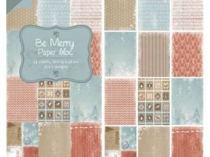 6011/0318 JOY Papirsblok 15x30 Be Mery-0