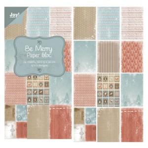 6011/0318 JOY Papirsblok 15x30 Be Mery-0